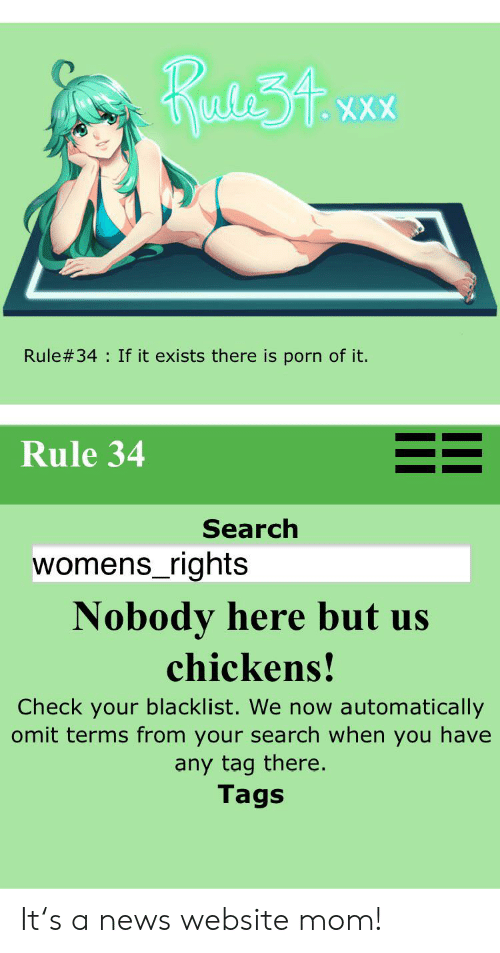 Rule 34 if it exist there is