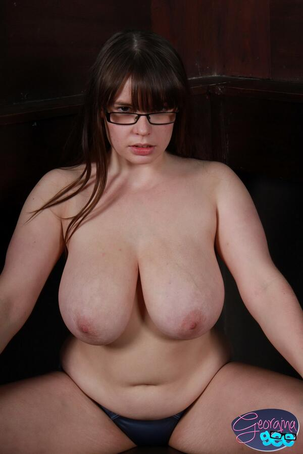 Big breasted geeky chicks naked