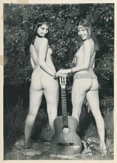 Hot hippies getting naked